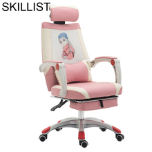 Fotel Biurowy Sessel Chaise De Bureau Ordinateur Sedie SillonesสตูลCadirหนังCadeira Poltrona Silla Gaming Officeเก้าอี้
