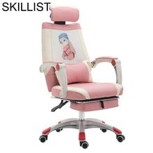 Fotel Biurowy Sessel שיזוף דה לשכת Ordinateur Sedie Sillones שרפרף Cadir עור Cadeira Poltrona סילה משחקי משרד כיסא