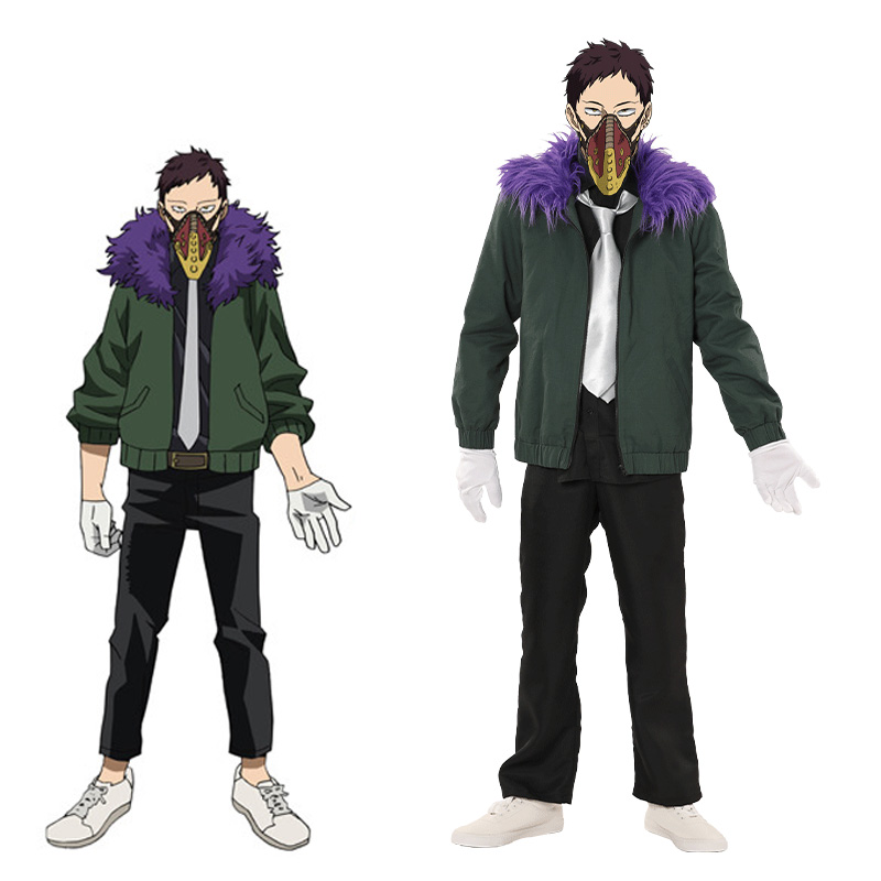 My Hero Academia Boku No Hero Akademia Kai Chisaki Overhaul Cosplay Costume Halloween Full Set Outfit Custom Made