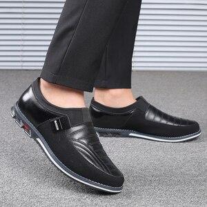 Image 5 - Męskie obuwie codzienne 2019 męskie mokasyny mokasyny modne buty do jazdy męskie buty do biura najnowsze męskie płaskie
