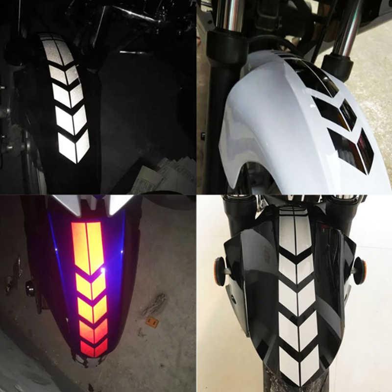 รถจักรยานยนต์ Motocross สะท้อนแสงสติกเกอร์กันน้ำสติ๊กเกอร์รถสติกเกอร์รถจักรยานยนต์ดัดแปลงรถจัดแต่งทรงผมสติกเกอร์รถอุปกรณ์เสริม