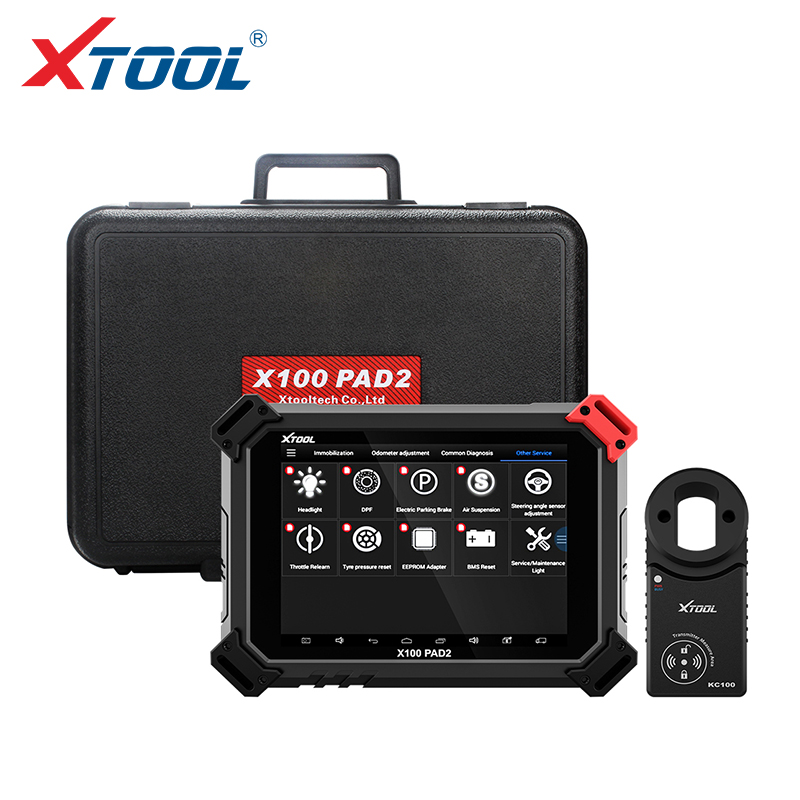 XTOOL X100 PAD2 X100 PAD2 PRO Key programmer Auto diagnostic scanner tool OBD2 engine diagnosis for