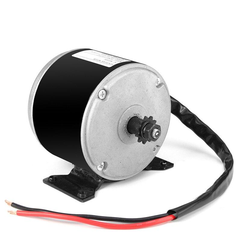 1pcs 24V 350W Black DC Motor Permanent Magnet Generator Micro Motor For DIY