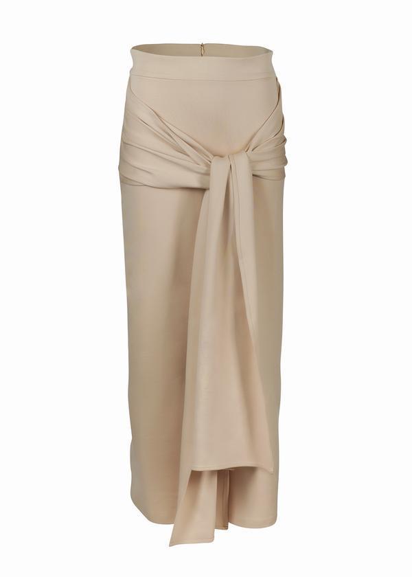 Fashion Women Long Muslim Skirt Islamic Clothing Abaya Dubai Turkish Bangladesh Knittle Cotton Pencil Skirt Ramadan Party