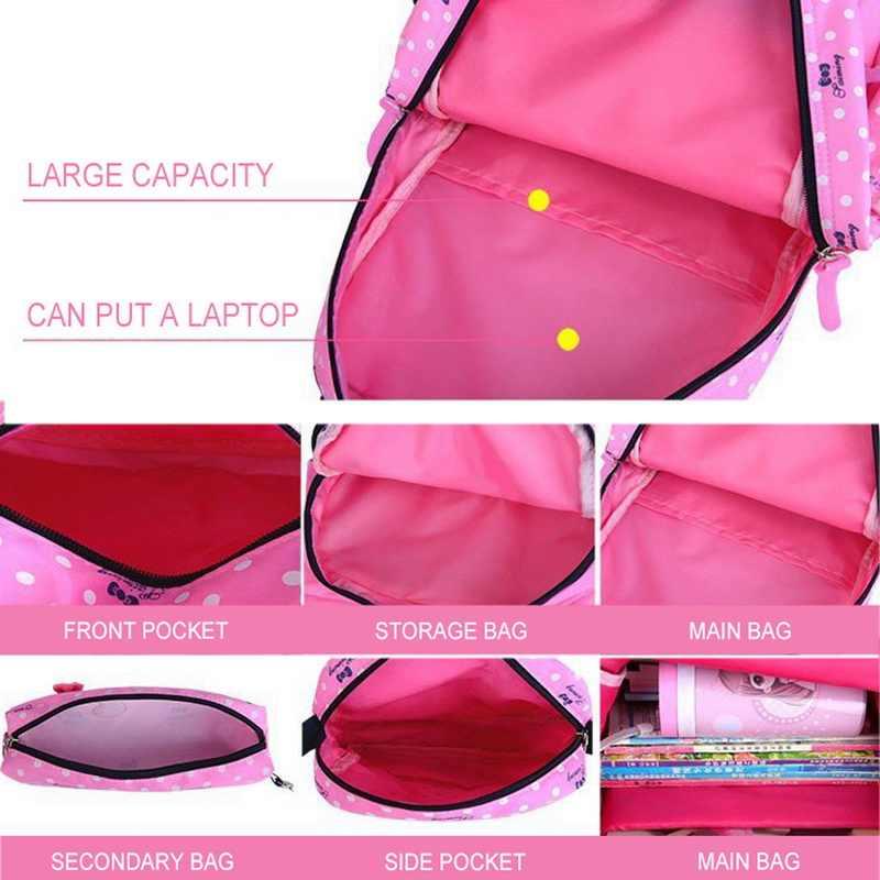 3 teile/satz Schule Taschen Für Mädchen Teenager Frauen Rucksack Schul Mode Druck Rucksäcke Für Kinder Kinder Reisetasche Bagpack