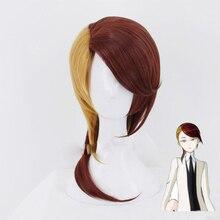 Anime kraina lśniąca rutylowa peruka do Cosplay Houseki no Kuni peruki syntetyczne włókno termoodporne sztuczne włosy kostium akcesoria