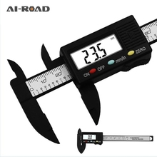 Vernier Caliper Digital 100mm-150mm 6 Inch LCD Digital Electronic Carbon Fiber Vernier Caliper Gauge Micrometer Measuring Tool стоимость