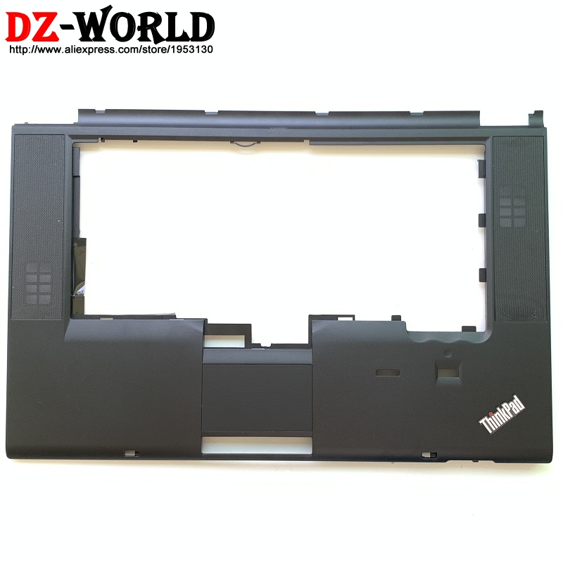New palmrest Upper Case keyboard bezel With fingerprint and CS hole for Lenovo Thinkpad T520 T520i W520 Laptop C Cover 04X3737 image