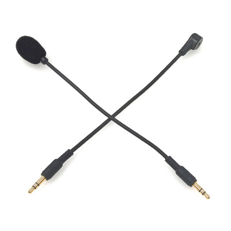 Mini Portable 3.5mm Jack Flexible 190MM Microphone Mic For Mobile Phone / PC / Laptop Notebooks / Car