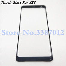 Original For Sony Xperia XZ3 Front Glass Touch Screen LCD Outer Panel Top Lens Cover Repair Replacement Part