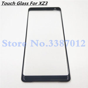 Image 1 - Original For Sony Xperia XZ3 Front Glass Touch Screen LCD Outer Panel Top Lens Cover Repair Replacement Part
