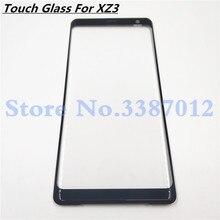 Originele Voor Sony Xperia XZ3 Voor Glas Touch Screen LCD Outer Panel Top Lens Cover Reparatie Vervanging Deel