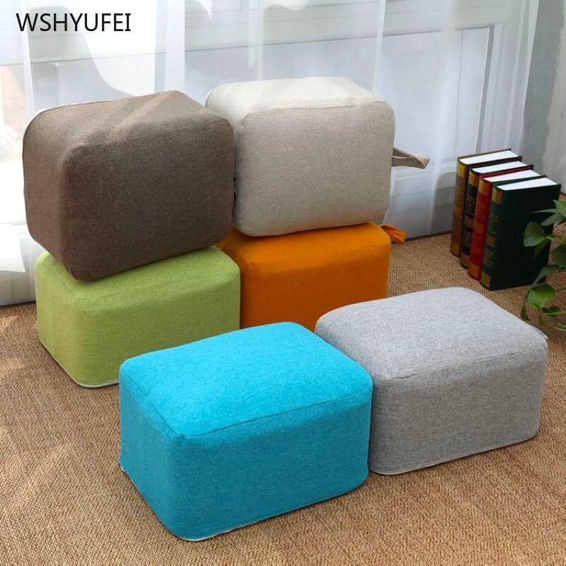 Linen Futon Cushions Increased Thickening Yoga Mat Meditation Mat Balcony Window Cloth Fabric Cushion Removable And Washable