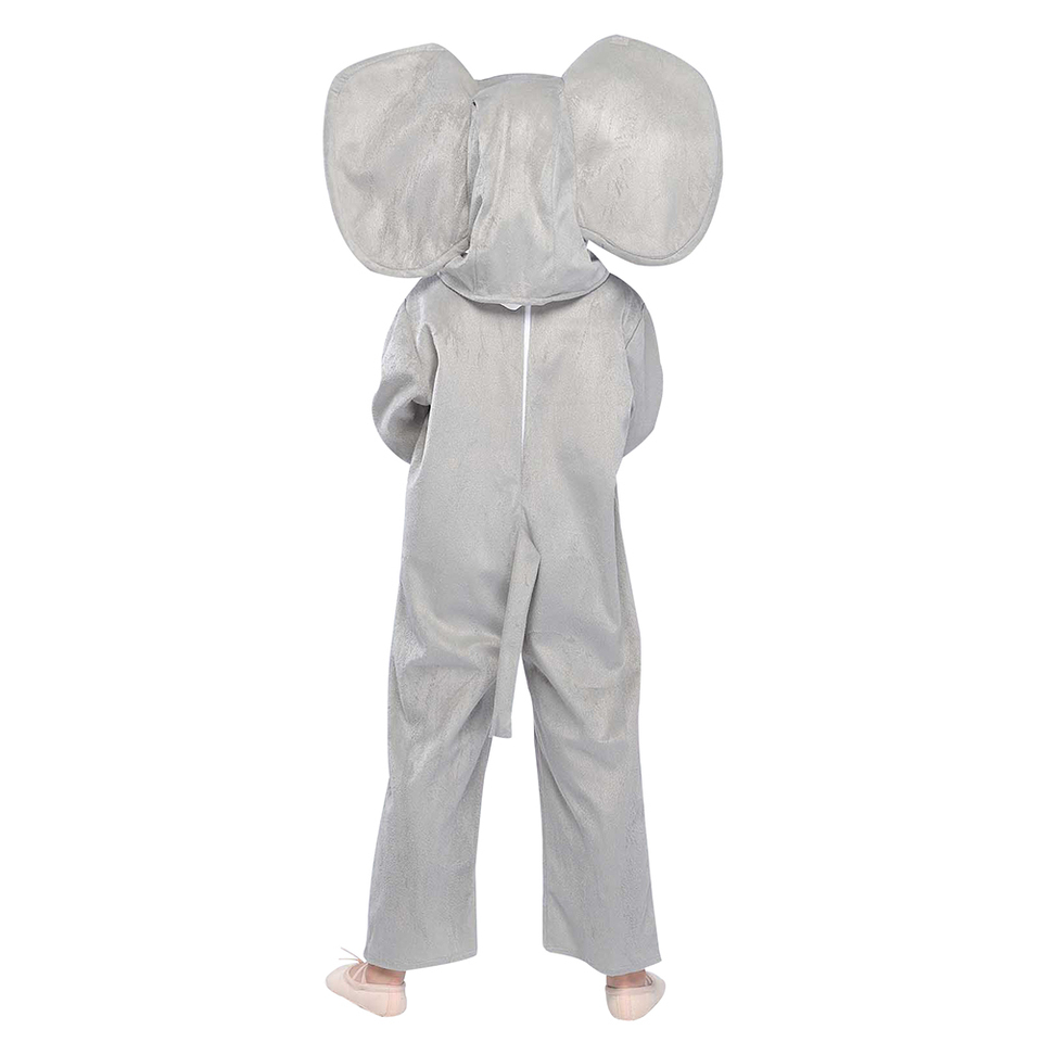 Elephant Costume l Adult Fancy Dress Zoo Animal Unisex Outfit Mens Funny