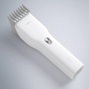 Image 3 - חשמלי שיער גוזם קליפר Xiaomi Enchen USB שיער חותך מהיר טעינה שיער גברים גוזם Xiaomi גוזז מספרה בית