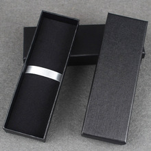 Hard Carton High-grade Pen Box Packaging black Blue Red Pen Case Box For Gift School Stationery Supplies Gift box