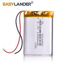 503450 3.7V 1000Mah Lithium Polymer Lipo Oplaadbare Batterij Li Ion Cellen Voor Mp4 Gps Dvd Pad Spiegel Van de Dvr Camera Recorder