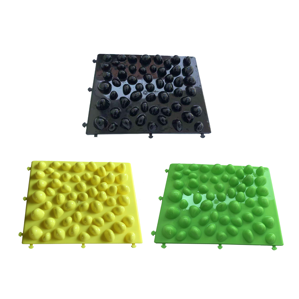 Imitation Pebbles Massage Mat Cobblestone Reflexology Massage Bath Room Yoga Mat Bathroom Pad Christmas Gift For Mom Daddy