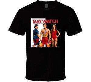 Baywatch Zac Efron komedi filmi 90s kült klasik TV gösterisi T shirt