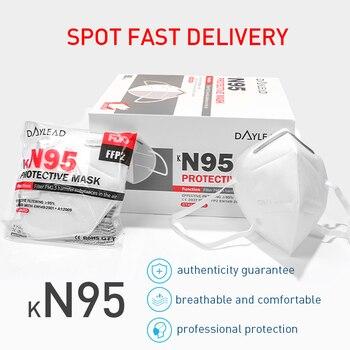 50 Disposable Masks KN95 Masks FFP2 Protective Masks 95% Filtered Antibacterial And Dustproof PPE Protective Masks Face Masks