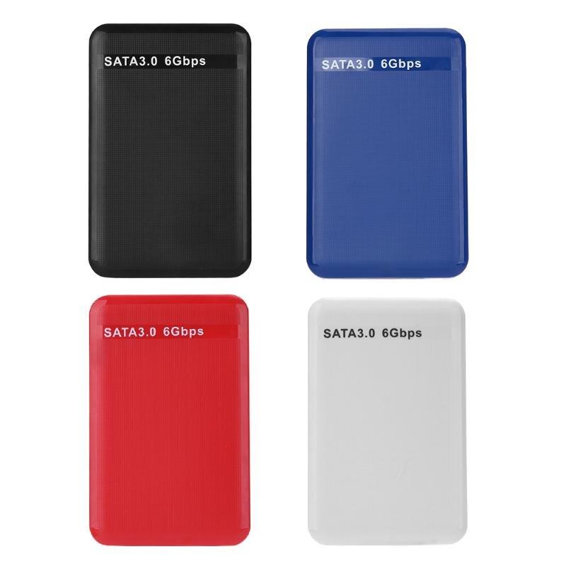 2.5 Inch USB3.0 To SATA 3.0 HDD SSD Box Hard Disk Drive Case Cover External Enclosure Case Box