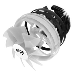 Image 5 - Darkflash Go ventilador de enfriamiento Led para CPU, disipador de calor para refrigeración de PC, 3Pin, AMD, silencioso, LGA/115X/775/AM3/AM4