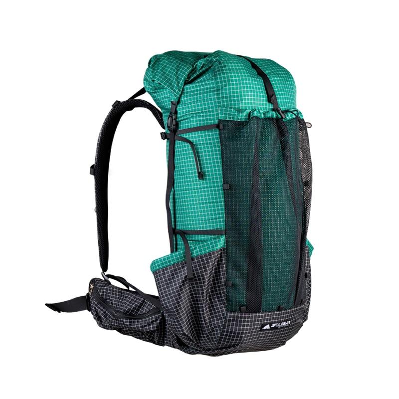 3F UL GEAR Qi Dian Pro Hiking Backpack Ultralight Camping Pack Travel Backpacking Trekking Rucksacks 46+10L