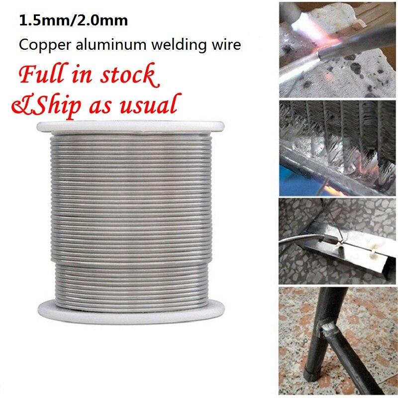 1.6/2mm Solder Welding Wire Low Temperature Copper Aluminum Welding Wire Electrode Flux-Cored Welding Rod For Repair