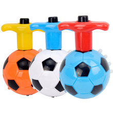 3pcs 360° Spinning Glowing Football Gyro Music Toy music Gyro Peg-Top Spinner Spinning Classic Toys Hot Sell Kids Toy(China)