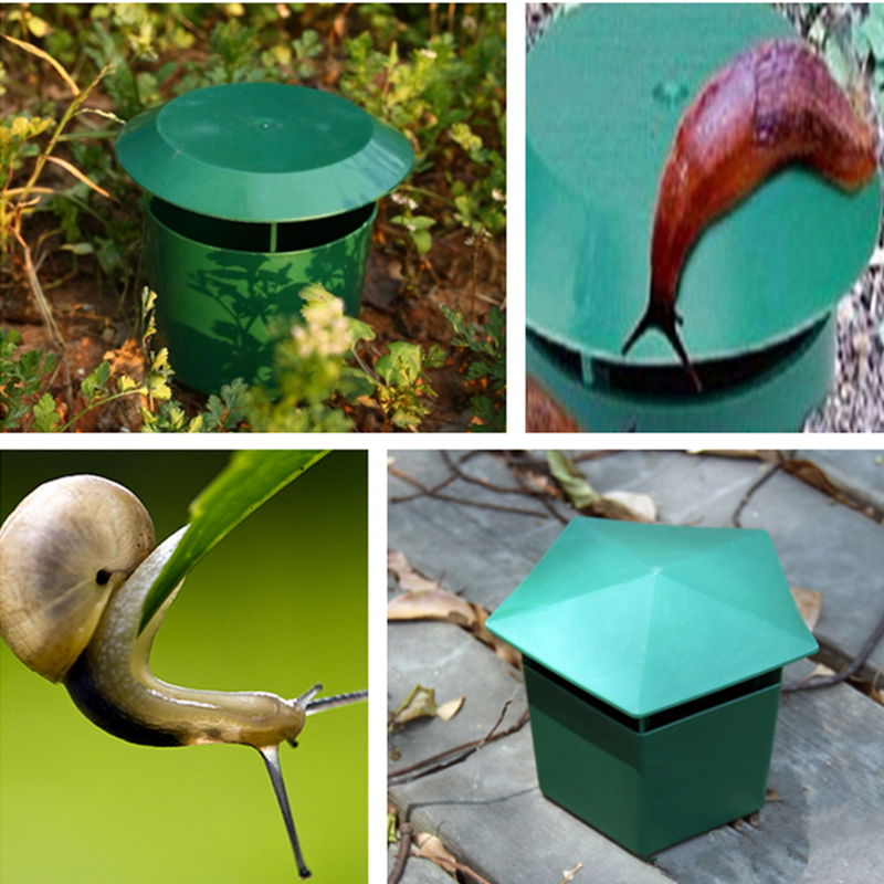 Plastic Snail Trap Catcher Cage Pest Insect Control Garden Outdoor Safety VxjYy7