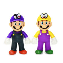 Odisséia de Super Mario PVC Action Figure Modelo Toy Dolls Resina Action Figure Toy Collectible Modelo 12-13 centímetros Divertido brinquedos Para Coleção(China)