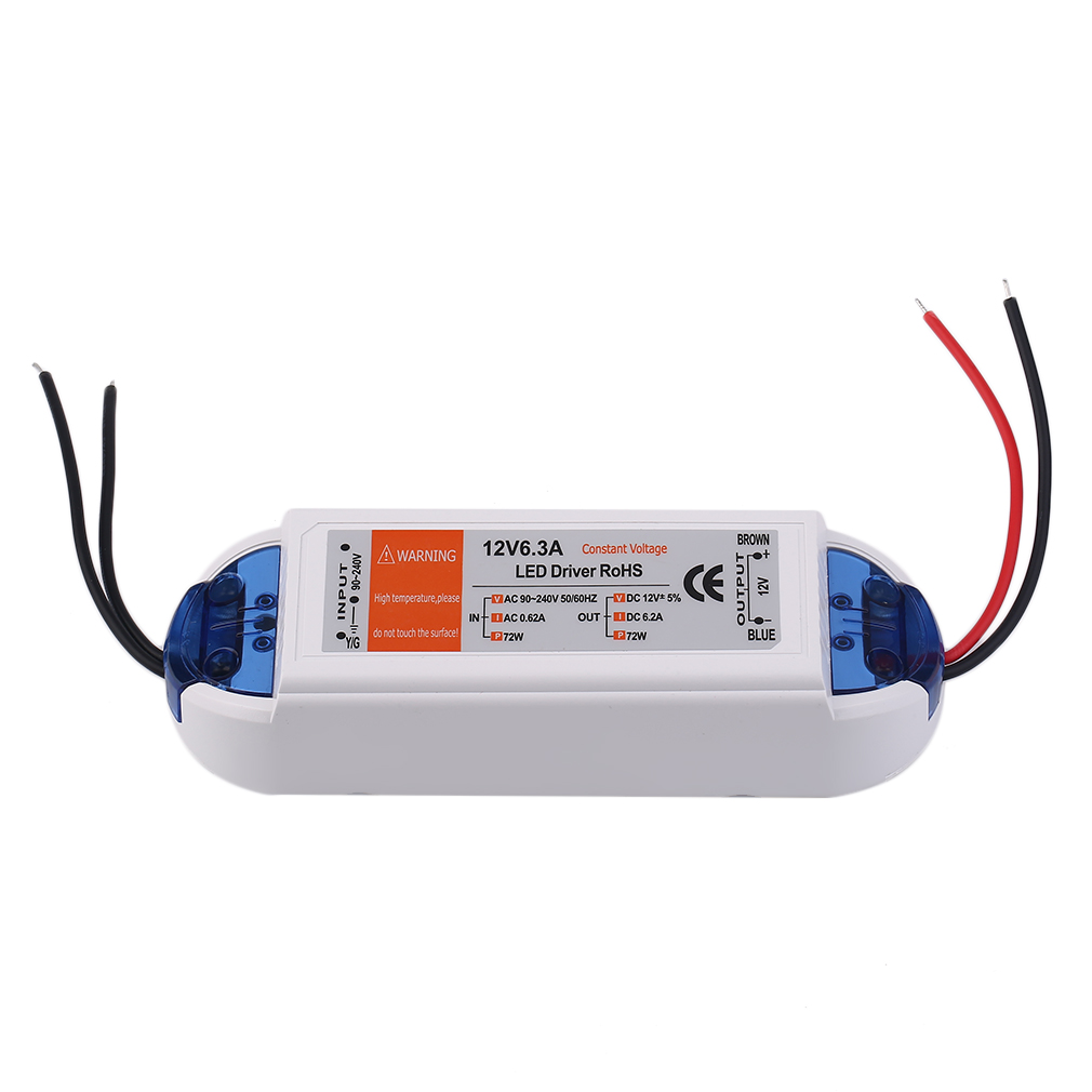 18W/28W/48W/72W/100W Power Supply DC 12v LED Driver Adapter Transformer Switch Output 100V-240V For LED Strip 2017 Top Sale