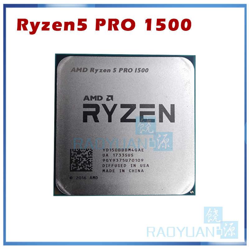 AMD Ryzen 5 PRO 1500 R5 1500 R5 PRO 1500 3.5 GHz czterordzeniowy procesor cpu YD150BBBM4GAE gniazdo AM4