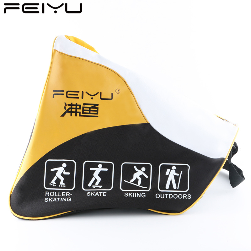 As fish New Style lun hua bao Adult Children Thick Skating Shoes Bag Protective Clothing Only One-Shoulder Cross-body Outdoor Ba