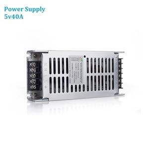 Image 1 - 5v40A כוח אספקת AC220V תצוגת Led וידאו קיר פנל 200W כוח מתאם עבור כל סוגי LED פנלים P4 P5 p6 P8 P10