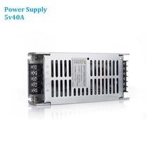 5v40A Cung Cấp Điện AC220V Màn Hình Led Hiển Thị Video Tường Bảng Điều Khiển Công Suất 200W Adapter Dành Cho Tất Cả Các Loại LED Tấm P4 P5 p6 P8 P10