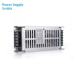 Image 1 - 5v40A Power Supply AC220V Led Display Video Wall Panel 200W Power Adapter For All Types LED Panels P4 P5 P6 P8 P10