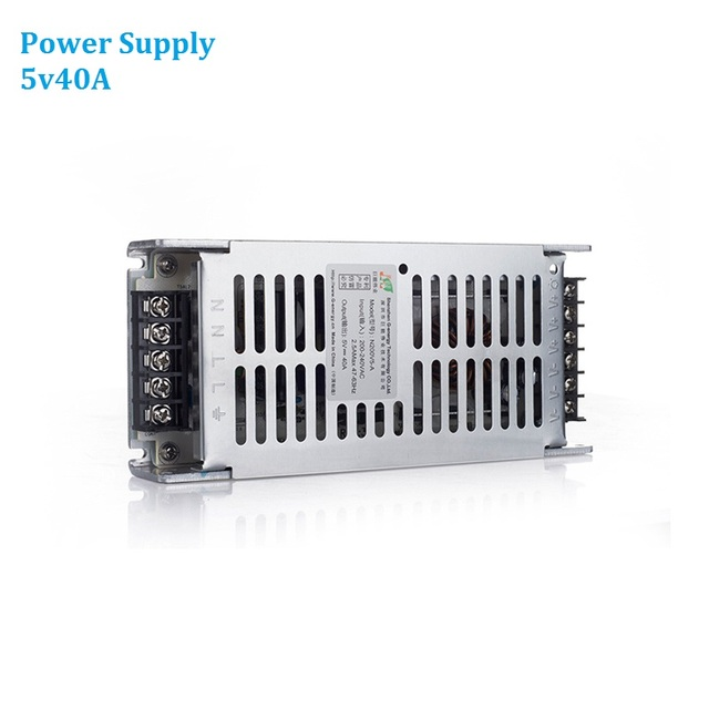 5v40A Power Supply AC220V Led Display Video Wall Panel 200W Power Adapter For All Types LED Panels P4 P5 P6 P8 P10