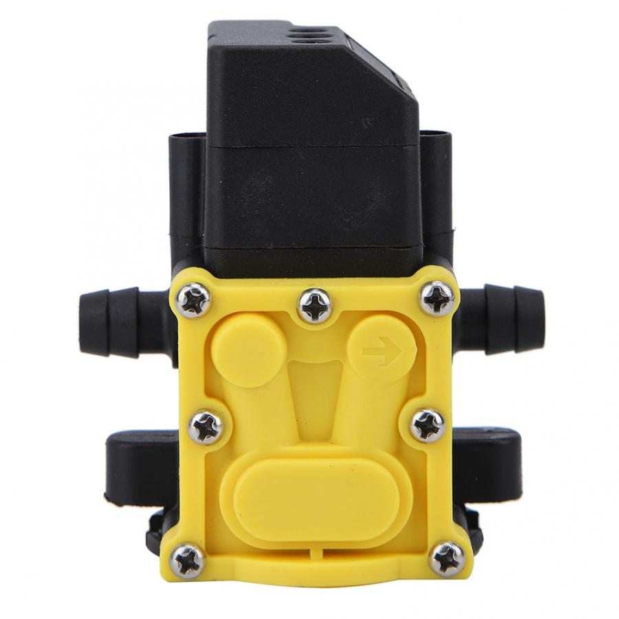 12V Plastic Tubing Pesticide Sprayer Garden Self-priming Pump Accessories Electric Sprayer Water Pump Diaphragm Pressure Pump