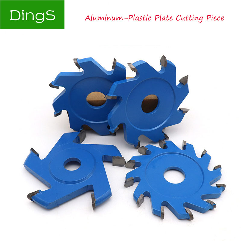 1pcs Tray Saw Blade 20mm Aperture Aluminum Composite Plate PVC 95mm V/U Type Wood Cutting Disc Angle Grinder Tray Blade