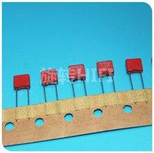 10 قطعة بالشريط حزمة جديد الأحمر WIMA MKS2 33NF 100V P5MM 0.033 فائق التوهج 333/100V الصوت 333 mks 2 33n 0.033u/100v