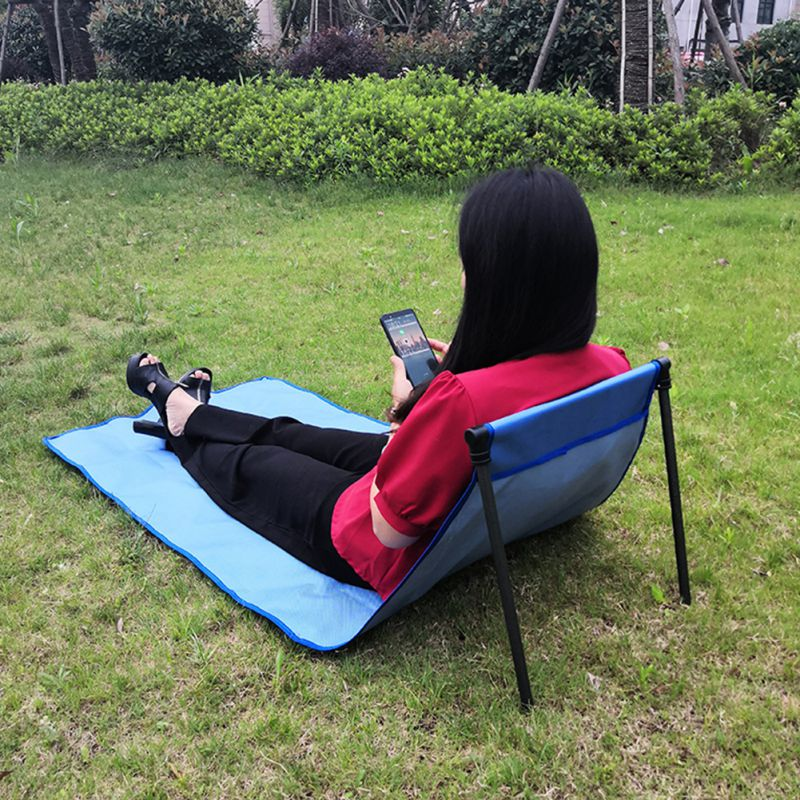 Portable Outdoor Sun Loungers Folding Traveling Adjustable Chair Bed Lounge Sleep Chair Home Furniture
