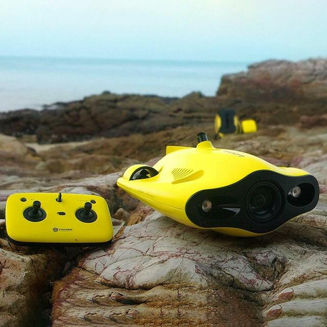 العلامة التجارية الجديدة مطاردة الابتكار غلاديوس طائرة صغيرة تحت الماء بدون طيار مع 4K كاميرا 100 متر/50 متر عمق دون ظهره