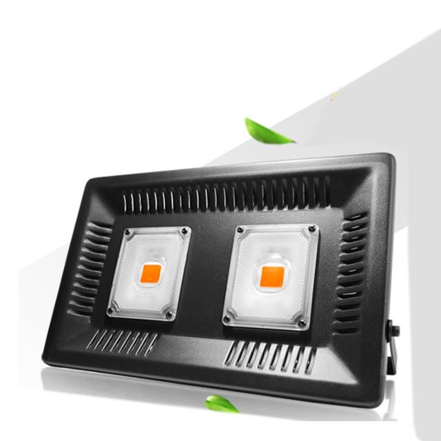 OUFULA efekt świetlny 1000W lampa do uprawy roślin wodoodporna pełna spektrum cieplarnianych roślin warzywnych ledowe światło wypełniające tanie i dobre opinie Aluminium Żarówki led Bezprzewodowy ściemniacz 110-240 v Rosną światła 3 yeras 37cm longgang HTE-100W 30cm