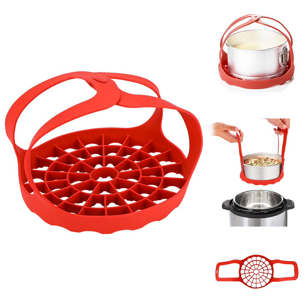 Steamer Basket Silicone Cooker Vegetable Steamer Basket Cooking Steamer For Kitchen Cooking Tools Accessories Cookware