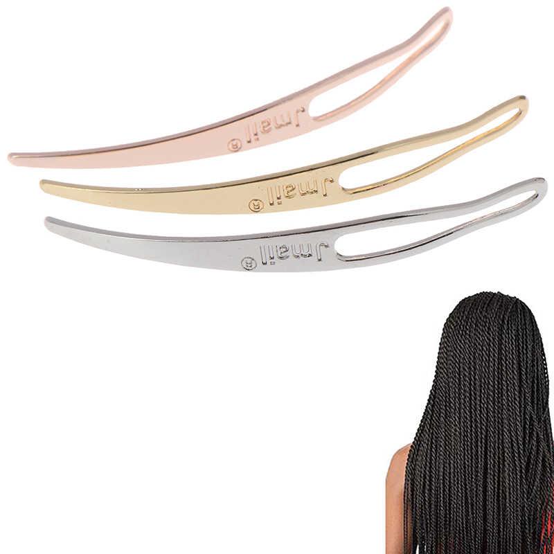 دريدلوك أداة كرافت سيستيرلوك جدائل شعر كروشيه أدوات متداخلة إبرة شعر منحنية لجهودكم سهلة