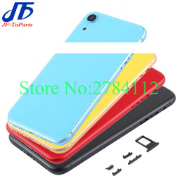 Best Quality For iphone XR / XS MAX / X XSM Back Glass Middle Frame Chassis Full Housing Assembly Battery Cover door
