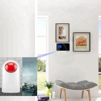 Bezprzewodowy System alarmowy wi-fi GSM RF 433MHz zestaw czujników systemy alarmowe bezpieczeństwo dom kompatybilny Alexa i Google Home tanie i dobre opinie Scimagic-RC CN (pochodzenie) NONE Drzwi Okna Czujnik PSTN Kontrola aplikacji 185X125X14 7MM Home Alarm Karty RFID wireless