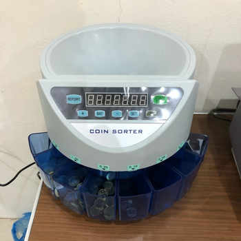 Electronic coin sorter coin counter counting machine custom made for countries display the total value and quantity - DISCOUNT ITEM  10% OFF All Category