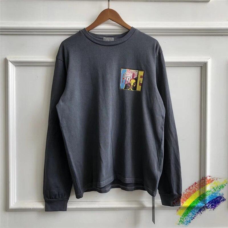 CAVEMPT C.E LONG SLEEVE T-Shirts Men Women 1:1 High Quality CAV EMPT  Streetwear Tees Mens CAVEMPT T Shirt